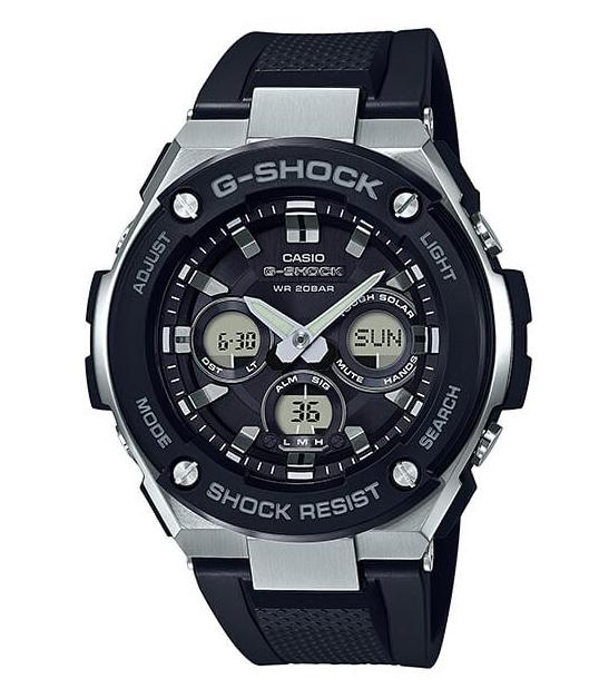 【あす楽対応商品】カシオG-SHOCK海外モデル G-STEEL GST-S300-1A