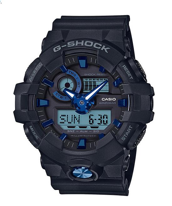 【あす楽対応商品】Gショック 海外モデル CASIO G-SHOCK ガリッシュカラー GA-710B-1A2