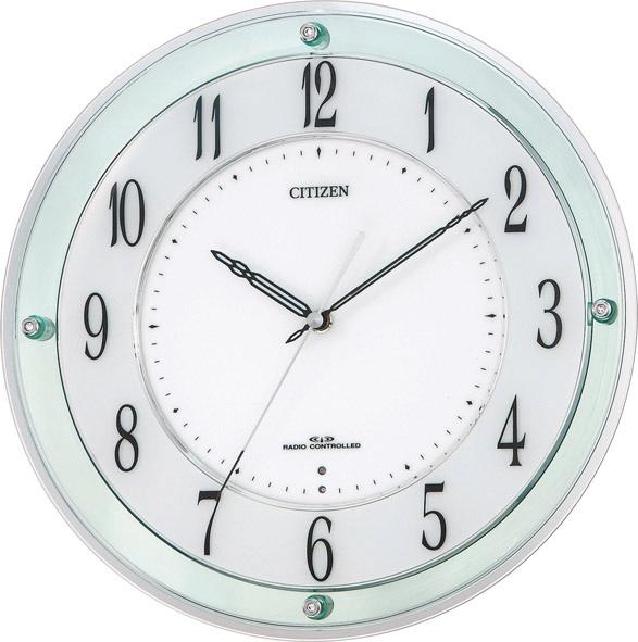 【あす楽対応商品】シチズン電波掛時計「ミレディM791」4MY791-005