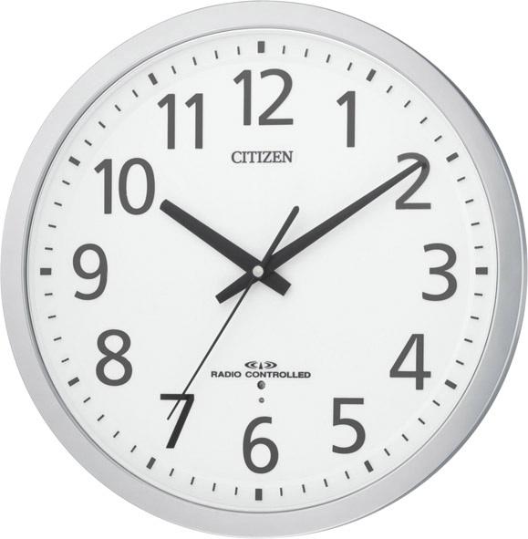 【お取寄せ品】シチズン電波掛時計「スペイシーM462」8MY462-019