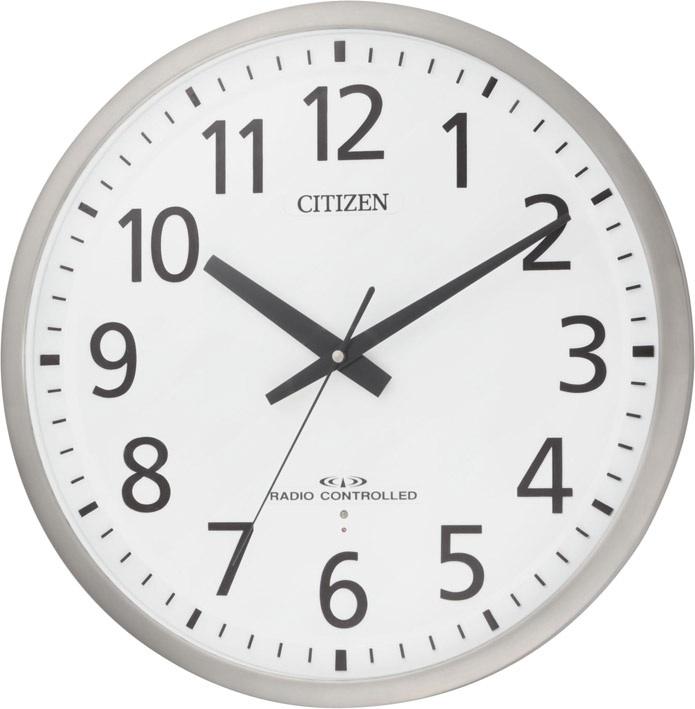 【お取寄せ品】シチズン電波掛時計「スペイシーM463」8MY463-019