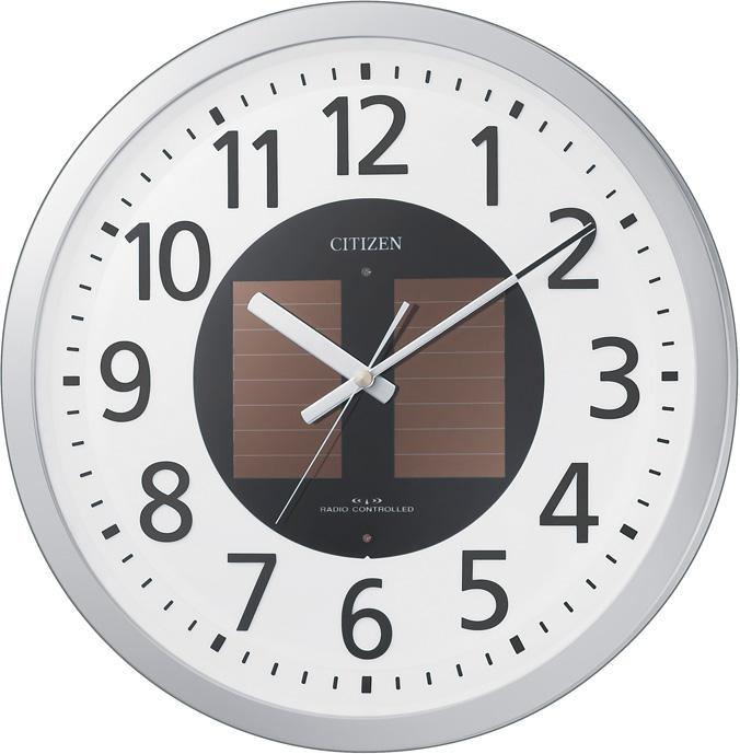 【お取寄せ品】シチズン電波掛時計「エコライフM815」4MY815-019