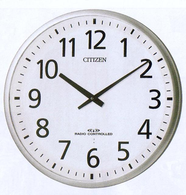 【お取寄せ品】シチズン高性能電波掛時計【スリーウェーイブ821】4MY821-019