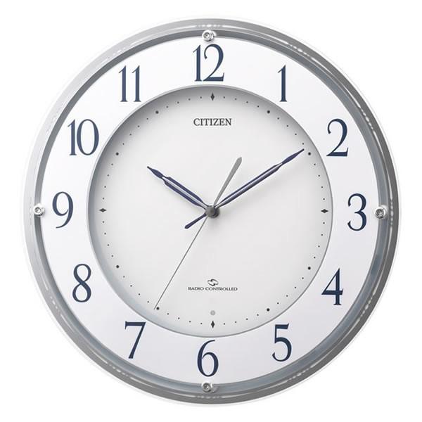 【お取寄せ品】シチズン電波高感度掛時計【スリーウェイブM823】4MY823-003