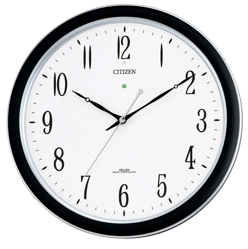 【お取寄せ品】シチズン電波掛時計「ネムリーナM691F」4MY691-N19