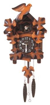 バーゲンで 【お取寄せ品】リズム掛時計「カッコーメイソンR」4MJ234RH06, AAA net Shop:d1b5ba5a --- canoncity.azurewebsites.net