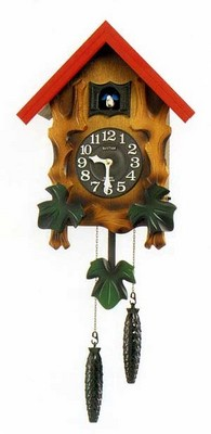 【お取寄せ品】リズム掛時計 「カッコーメルビルR」4MJ775RH06