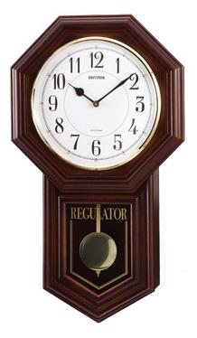 【お取寄せ品】リズム飾り振り子付掛時計「ベングラーR」4MJA03RH06