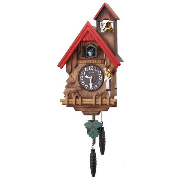 【お取寄せ品】リズム掛時計「カッコーチロリアンR」4MJ732RH06