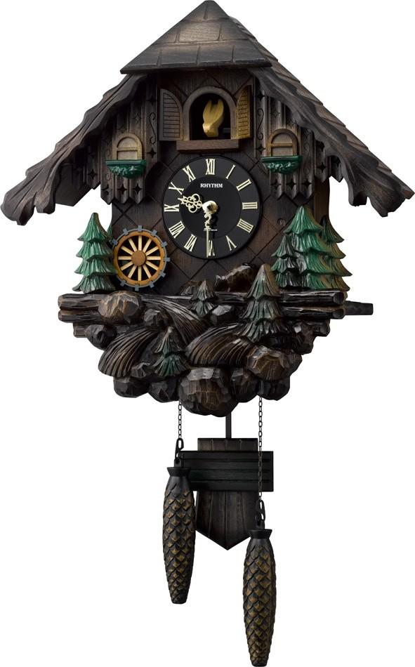 【お取寄せ品】リズム 掛時計 カッコーヴァルト 4MJ422SR06