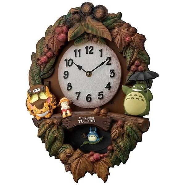【お取寄せ品】リズム時計製 トトロ鳩時計 4MJ429-M06