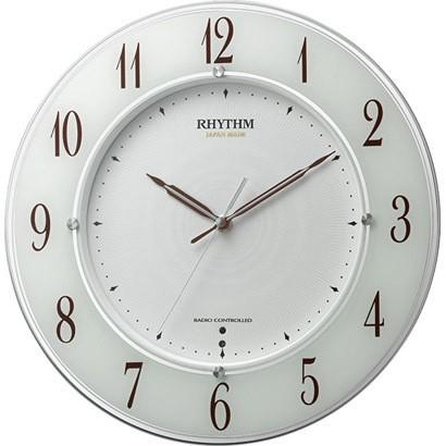 【お取寄せ品】リズム電波掛時計スリーウェイブM847 4MY847SR03