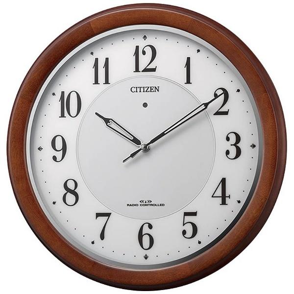 【お取寄せ品】シチズン電波掛時計 4MY852-006