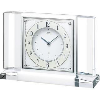 【お取寄せ品・送料無料】セイコークロック置き時計「セイコーエムブレム」HW564W【smtb-tk】