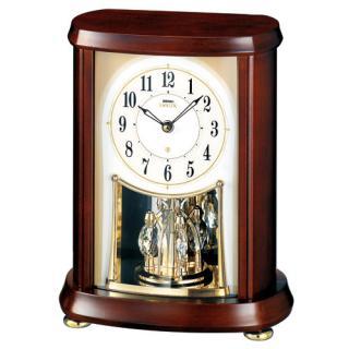 【お取寄せ品・送料無料】セイコークロック電波置き時計「セイコーエムブレム」HW566B【smtb-tk】