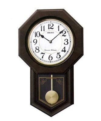 【お取寄せ品】セイコークロック掛時計「チャイム&ストライク」RQ325B