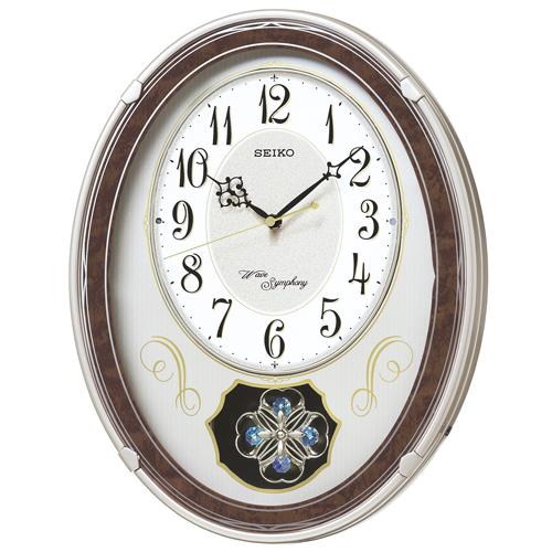 【お取寄せ品】セイコークロックメロディ電波掛時計AM259B
