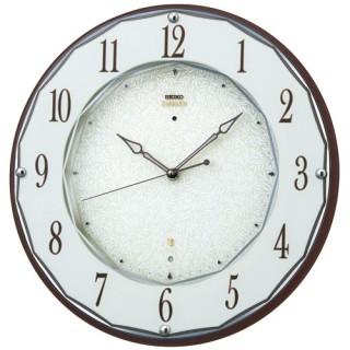 【お取寄せ品】セイコークロック電波掛時計「セイコーエムブレム」HS524B【smtb-tk】