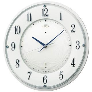 【お取寄せ品・送料無料】セイコークロック電波掛時計「セイコーエムブレム」HS543W【smtb-tk】