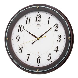 【お取寄せ品】セイコークロック電波掛時計「セイコーエムブレム」HS545B【smtb-tk】