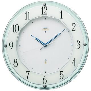 【お取寄せ品】セイコークロック電波掛時計「セイコーエムブレム」 HS546S【smtb-tk】