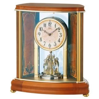 【お取寄せ品・送料無料】セイコークロック電波置き時計「セイコーエムブレム」HW577B【smtb-tk】