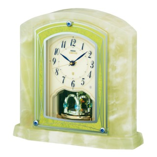 【お取寄せ品・送料無料】セイコークロック電波置き時計「セイコーエムブレム」HW579M【smtb-tk】