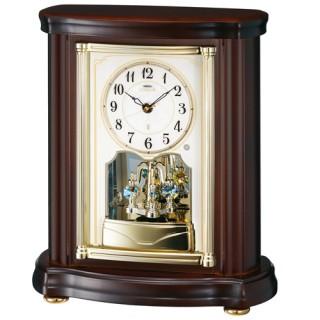 【お取寄せ品】セイコークロック電波置き時計「セイコーエムブレム」HW581B【smtb-tk】