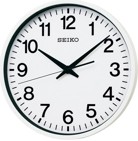 【お取寄せ品】セイコークロック 衛星電波掛時計GP201W