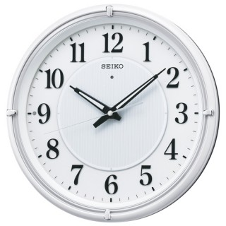 【お取寄せ品・送料無料】セイコークロック電波掛時計KX393W