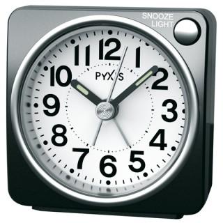 値引き ライトつきの小さな目ざまし時計は シンプルで使いやすさ抜群 お取寄せ品 セイコークロック ピクシス 目覚まし時計NR437K 贈呈