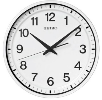 【お取寄せ品・送料無料】セイコークロック 衛星電波掛時計GP214W