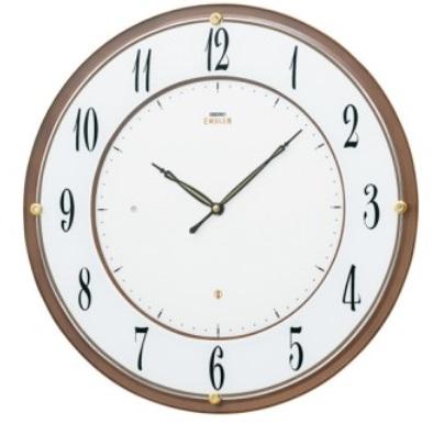 【お取寄せ品・送料無料】セイコークロック電波掛時計「セイコーエムブレム」 HS548B【smtb-tk】