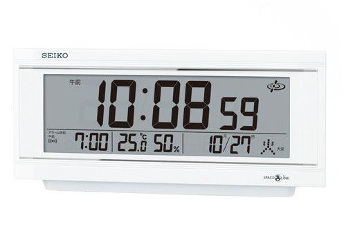 【お取寄せ品】セイコー 衛星電波目覚まし時計GP501W
