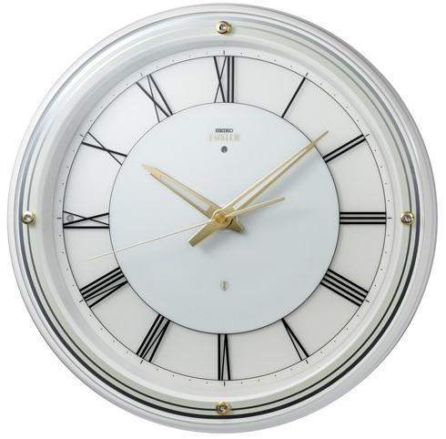 【お取寄せ品・送料無料】セイコークロック電波掛時計「セイコーエムブレム」 HS550W【smtb-tk】