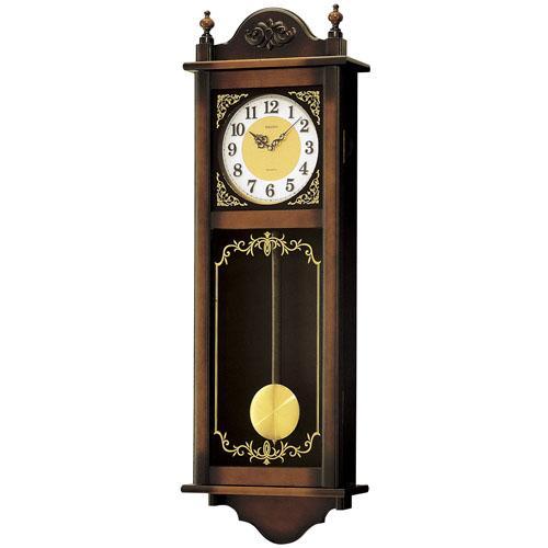【お取寄せ品】セイコー掛時計「チャイム&ストライク」RQ307A