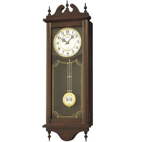 【お取寄せ品】セイコークロック掛時計「チャイム&ストライク」RQ309A