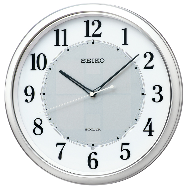【お取寄せ品】セイコークロック掛時計「ソーラークロック」SF243S