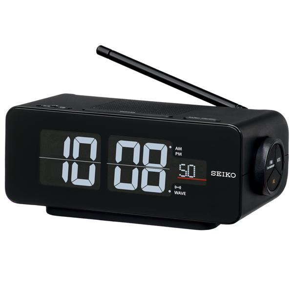 【お取寄せ品】セイコークロック 電波デジタル目覚まし時計 DL213K