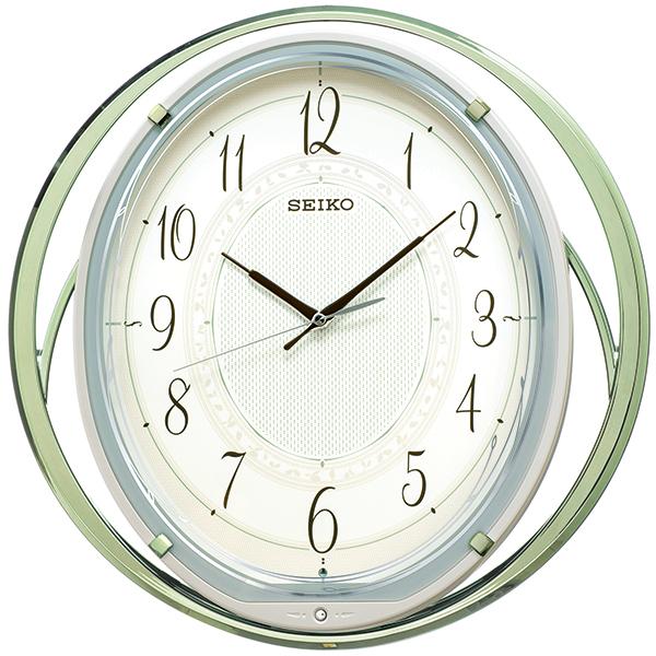 【お取寄せ品】セイコークロック アミューズ 電波掛時計 AM262M