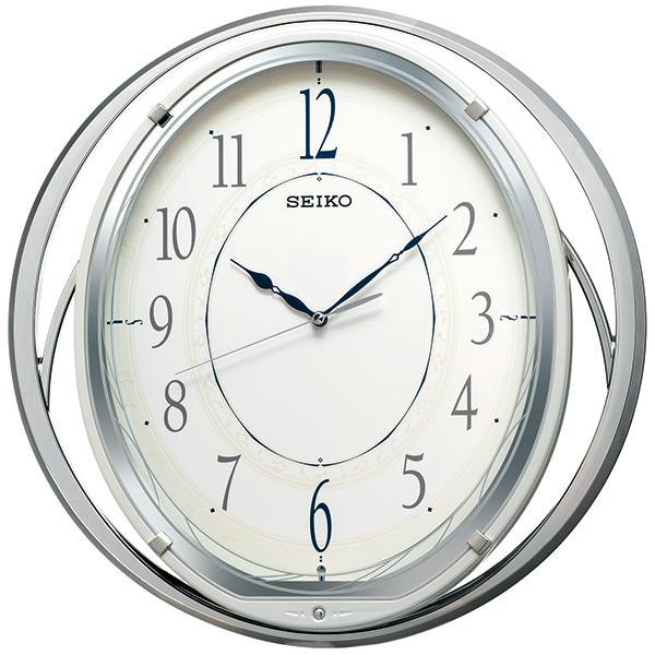 【お取寄せ品】セイコークロック アミューズ 電波掛時計 AM262W