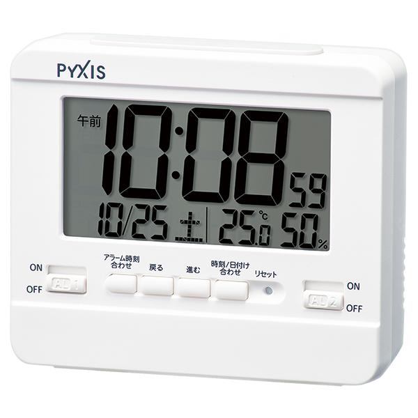 セイコークロック デジタル目ざまし時計 WEB限定 お取寄せ品 新作 NR538W