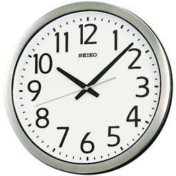 【お取寄せ品】セイコークロック掛時計 防湿・防塵型KH406S
