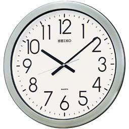 【お取寄せ品】セイコークロック掛時計 防湿・防塵型KH407S