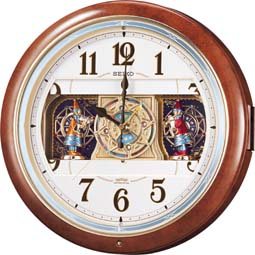 【お取寄せ品】セイコークロック電波掛時計「ウェーブシンフォニー」RE559H