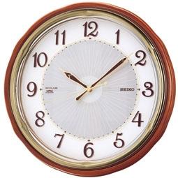 【お取寄せ品】セイコークロック電波掛時計「ソーラー&電波」SF221B
