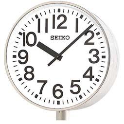 """【お取寄せ品】!送料無料 セイコー製 電波時計 システムクロック(両面ポール型) """"交流電源式""""  SFC-787R"""