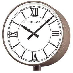 """【お取寄せ品】!送料無料 セイコー製 電波時計 システムクロック(両面ポール型) """"交流電源式""""  SFC-789R"""
