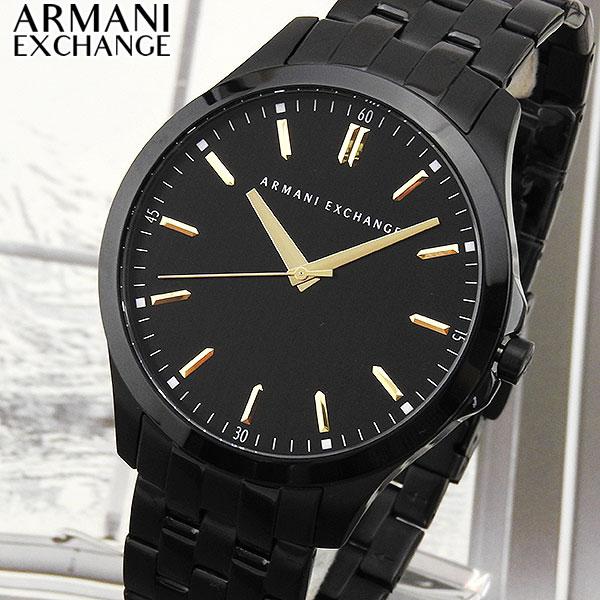 【送料無料】 ARMANI EXCHANGE アルマーニ エクスチェンジ AX2144 海外モデル メンズ 腕時計 ウォッチ メタル バンド クオーツ アナログ 黒 ブラック