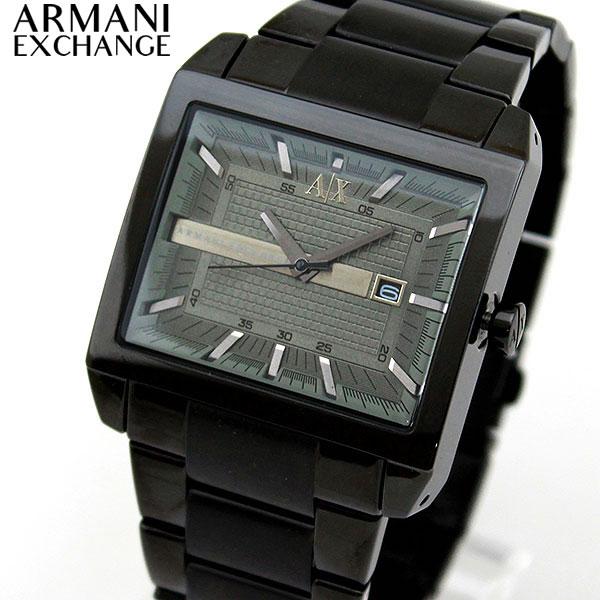 【送料無料】 ARMANI EXCHANGE ax armani exchange アルマーニ エクスチェンジ メンズ 腕時計 時計 ウォッチ メタル バンド 黒 ブラック クオーツ アナログ AX2202 海外モデル 誕生日プレゼント ギフト
